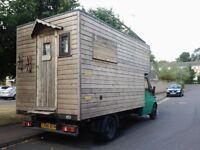 campervan, luton camper, self build, motorhome