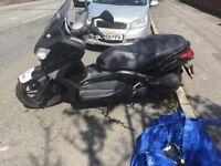 Yamaha X-Max 125cc 26k - Black - Cheap to Run (OPEN TO OFFERS - £1500)
