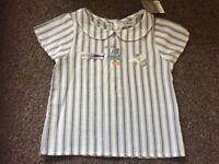 Next new with tags 4-5 years transport blouse