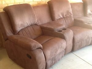 Theatre lounge / sofa recliner chair Meadow Springs Mandurah Area Preview
