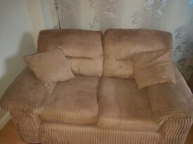 3 seater and 2 seater sofas good clean condition smoke and pet free home.