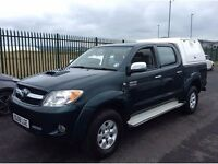 TOYOTA HILUX HL3 D-4D 4X4 AUTO PICKUP 2982cc, 4 Dr*ONE PREVIOUS OWNER*GOOD EXAMPLE*IDEAL FOR EXPORT*