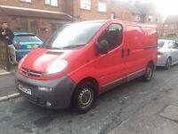Vauxhall/opel vivaro van For sale