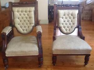 Grandma and Grandpa chairs Sandringham Bayside Area Preview