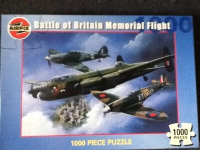 Battle of Britain Memorial Flight 1000 piece  Jigsaw by Airfix