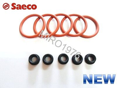Saeco  5Xo Ring Piston Brew Group And 5Xwater Tank Gasket Set For Odea And Talea