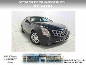 2012 CADILLAC CTS SEDAN AWD 3.0L, TRACTION INTEGRAL, BLUETOOTH