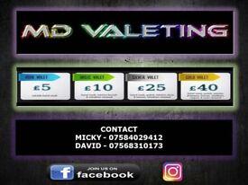 MD valeting