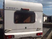 2003 Abbey Aventura 316 caravan 5 Berth