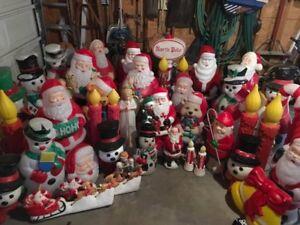 WANTED Christmas or Seasonal Blow Molds
