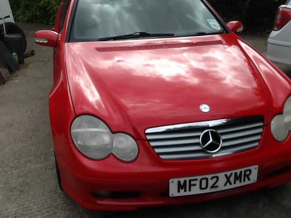 2002 red mercedes coupe c220 cdi in northern moor manchester gumtree. Black Bedroom Furniture Sets. Home Design Ideas
