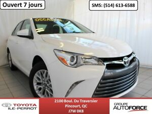 2016 Toyota Camry LE UPGRADE, SIÈGES CHAUF, CAM RECUL, BLUETOOTH