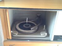 Vintage Marconi Radiogram and Record Player