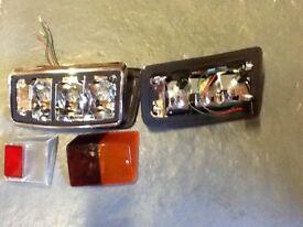 Classic Mini Mk4 Rear Lamp With Reverse Lens