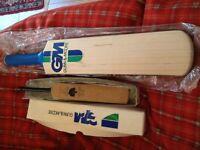 Gunn & Moore hand-made bats x2 (unused)