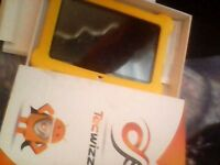 childrens brand new 7inch tablet, head fones and carry case