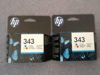 HP Ink Cartridges (343)