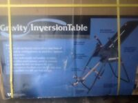 GRAVITY INVERSION TABLE.