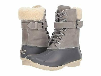 Sperry Top-Sider Women's Shearwater Duck Boot Gray size 5.5