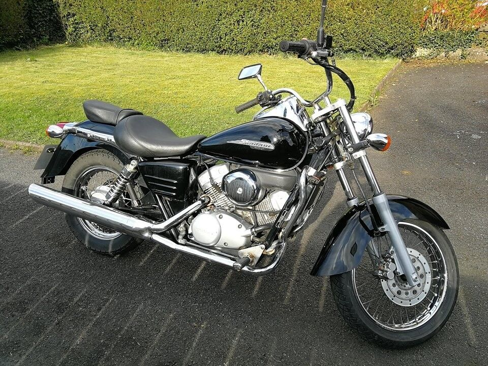 honda shadow vt125 in lisburn county antrim gumtree. Black Bedroom Furniture Sets. Home Design Ideas