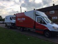 CHEAP, EASY AND QUICK VAN WITH MAN AND CAR RECOVERY