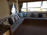 3 bed caravan for hire Craig Tara