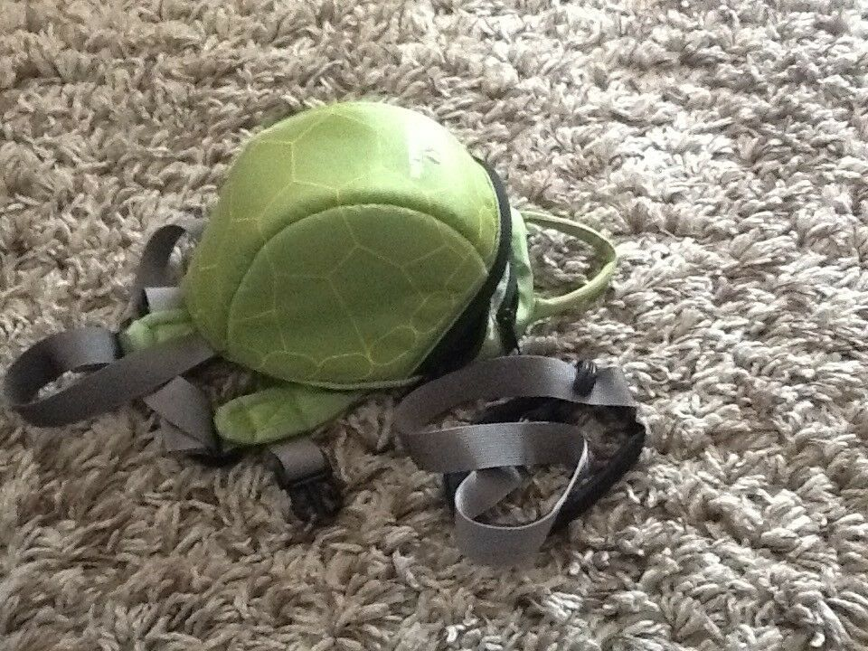 Little life rucksack (turtle design)