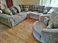 BRAND NEW COUCH VERONA FABRIC CORNER/3+2 SEATER SOFA SET AVAILABLE