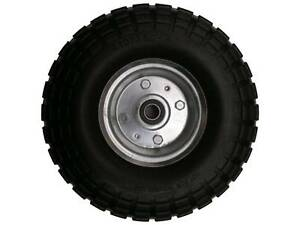 """10"""" 4.10 / 3.5 - 4, 16MM BORE, NO FLAT TROLLEY WHEELS Thornlands Redland Area Preview"""
