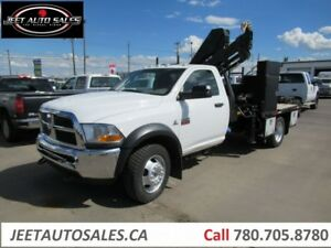 2011 Dodge Ram 5500 SLT Picker Crane