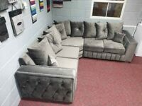 --- NEW SALE --- BRANDED HIGH QUALITY MAYA CORNER SOFA OR 3+2 SOFA AVAILABLE IN STOCK NOW