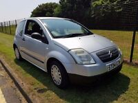 2004 CITROEN C2 1.4 HDI £30 A YEAR TAX CHEAP INSURANCE AMAZING ON FUEL MOT UNTIL JUNE 2018