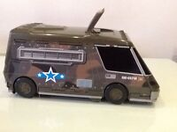 Boys MICRO MACHINE (loads of characters & vehicles stored inside) *EXCELLENT condition!*