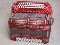 Wanted BCC# accordion