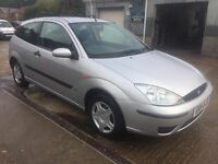 ** NEWTON CARS ** 04 FORD FOCUS 1.4 LX, 3 DOOR, GOOD OVERALL, MOT OCT 2017, P/EX POSS, CALL