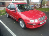 2002 rover 25 with 10 months mot 1.4 petrol £300 NO OFFERS
