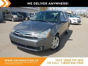 2009 Ford Focus SEL LEATHER! LOW KILOMETERS! MINT CONDITION!!