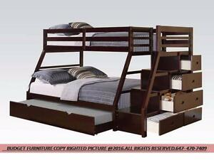 BEST DEALS ON BUNK BEDS FROM 299$..READY TO PICK UP