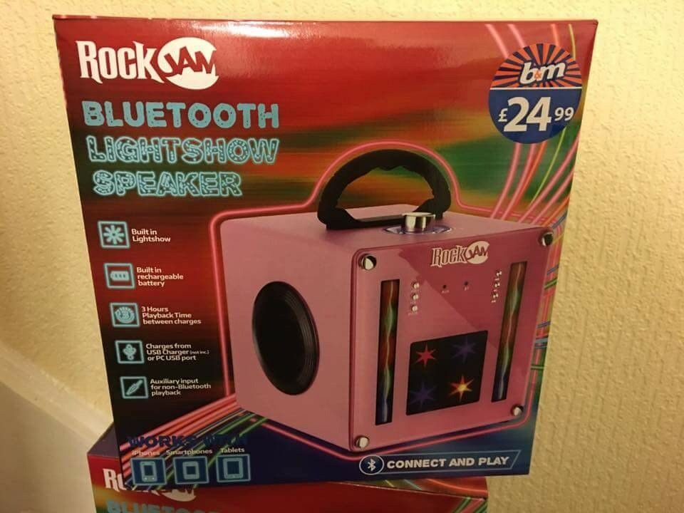 Bluetooth light up speaker