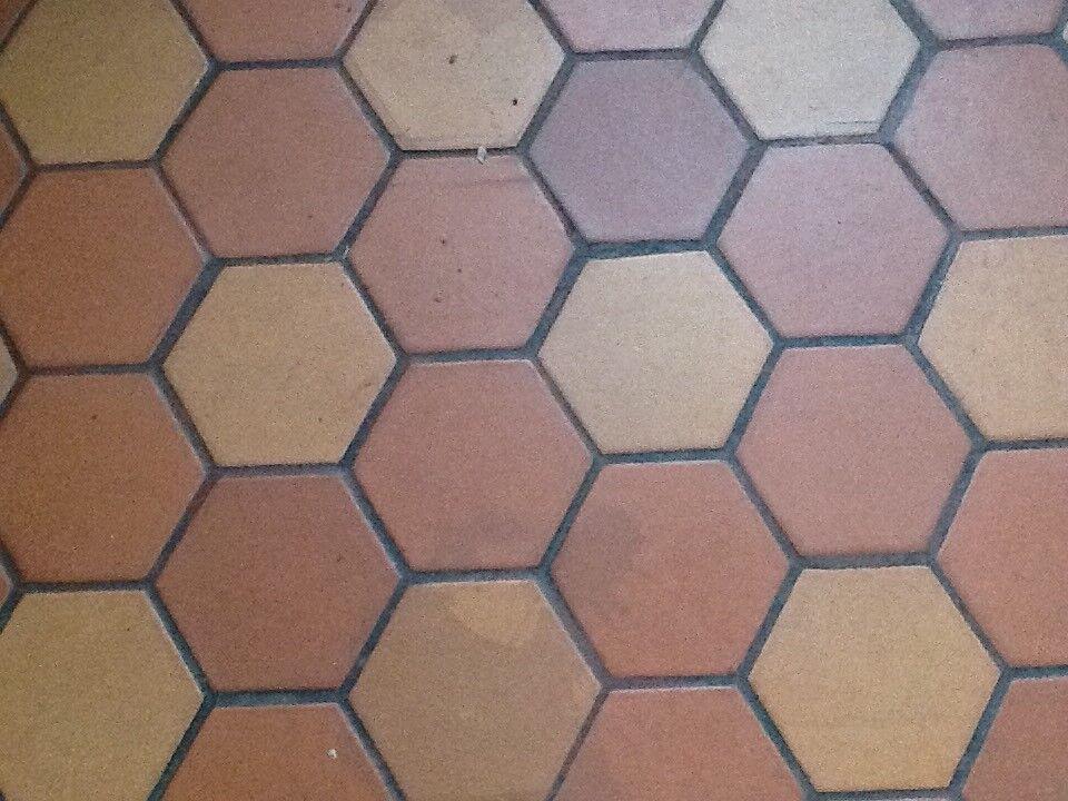 Terracotta Hexagonal Quarry Tiles