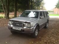 FORD RANGER CREW CAB 4x4 WD THUNDER DETATCHABLE HARDTOP 1 OWNER 70000MLS MOT AUGUST 2018