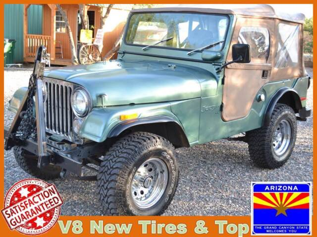 classic jeep cj v8 vintage arizona offroad 4x4 cj5 tow 4wd off road used jeep cj for sale in. Black Bedroom Furniture Sets. Home Design Ideas