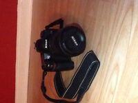 Nikon D70S DSLR Camera incl 18-105mm lens