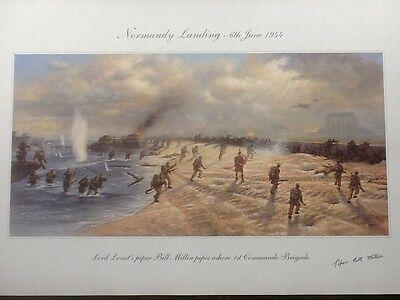 D-day Piper Bill Millin Print.