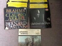 Vinyl - Classical Music Brahms - various 7 records