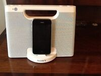 Sony docking station for IPhone IPad