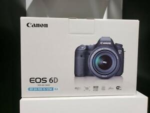 Store Sale - Canon EOS 6D WITH 24-105MM LENS KIT, Brand New In Box