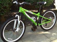 Carrera blast child's mountain bike like new