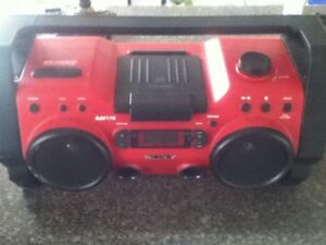Looking for ghetto blaster for work