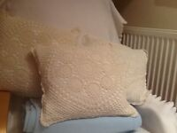 Shabby Chic vintage cushions